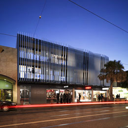 Acland Street high density residential development completed projects Amnon Weber Architect