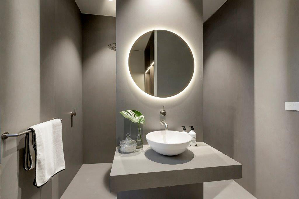 Amnon Weber Interiors Langdon Road Caulfield North Medium Density Housing Bathroom
