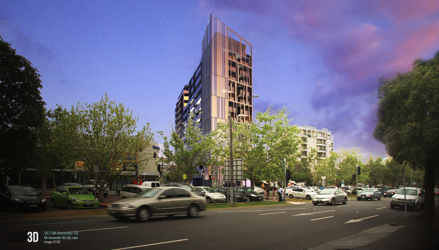 amnon weber architects Mt Alexander road Moonee Ponds